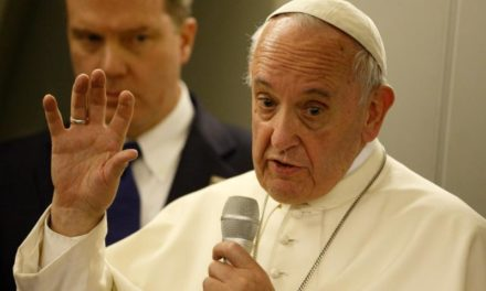 Pope expresses satisfaction with meetings on Rohingya crisis