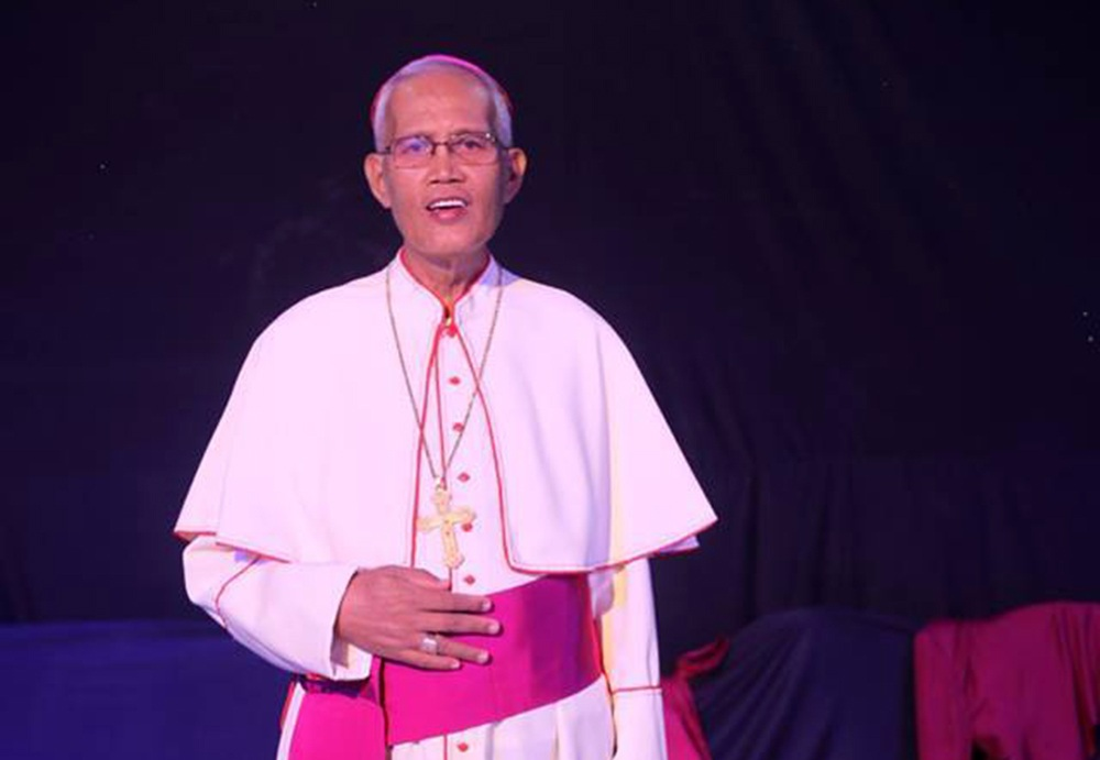 Bishop Elenito Galido of Iligan (1954-2017). PHOTO FROM THE DIOCESE OF ILIGAN