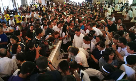 Fr. Tito laid to rest amid calls for justice