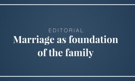 Marriage as foundation of the family