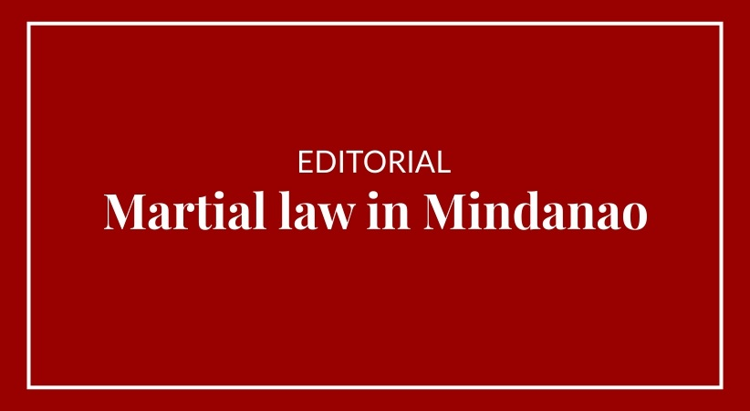 Martial law in Mindanao