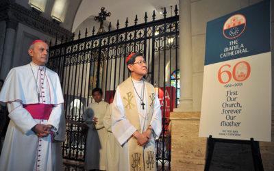 Manila Cathedral unveils new logo