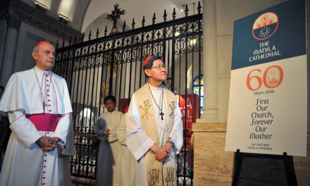 Manila Cathedral unveils new logo
