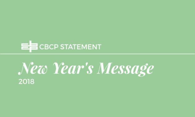 New Year's Message