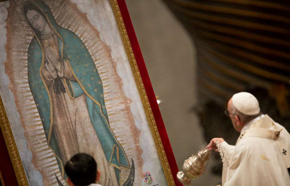 Pope: 'La Guadalupana' shows that everyone has a place in the Church