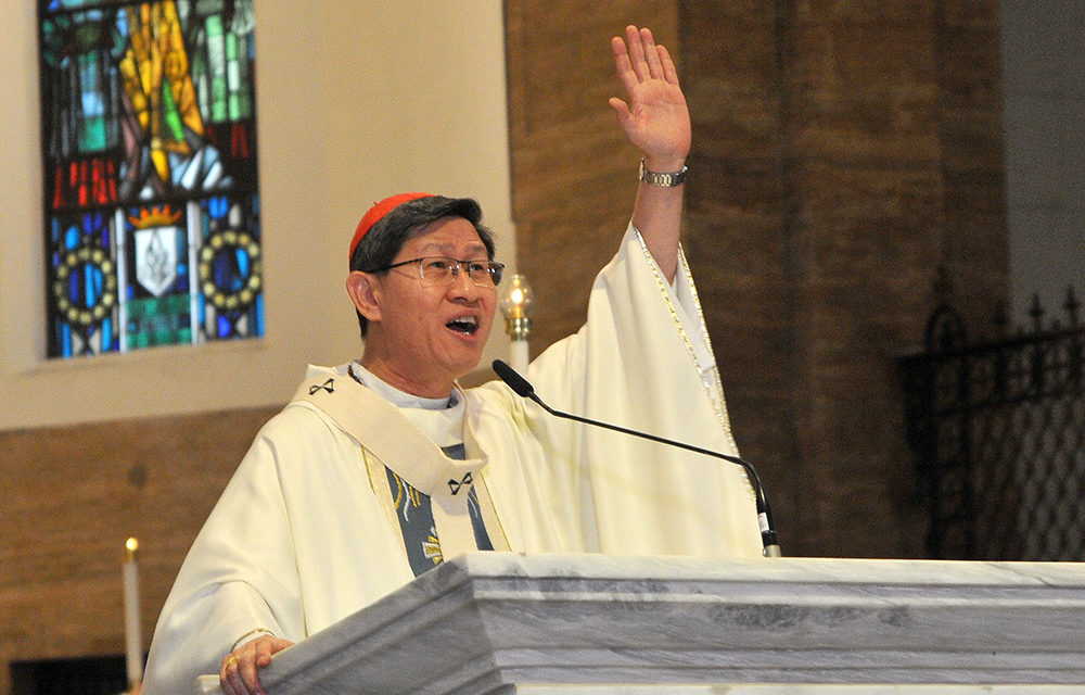 Cardinal Tagle: Stop complaining, do something