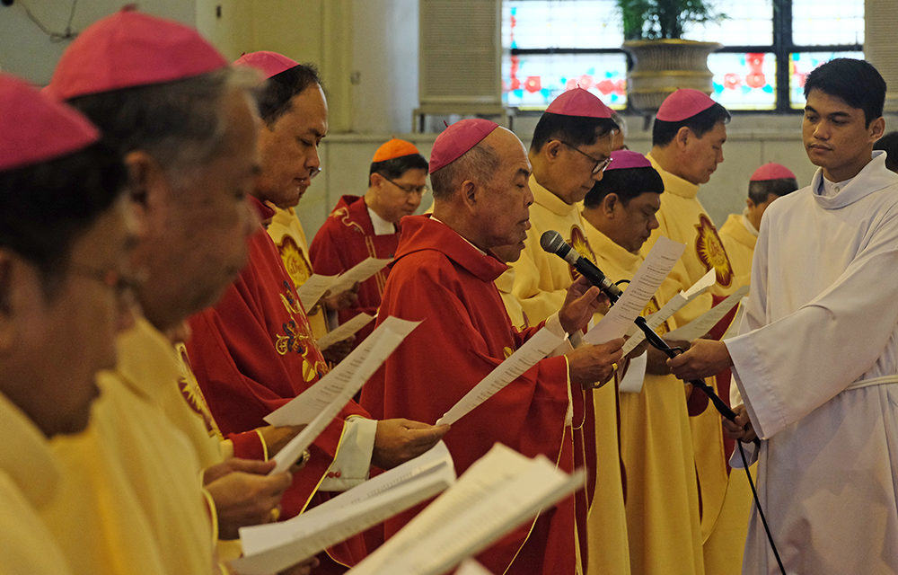 New CBCP officials take oath