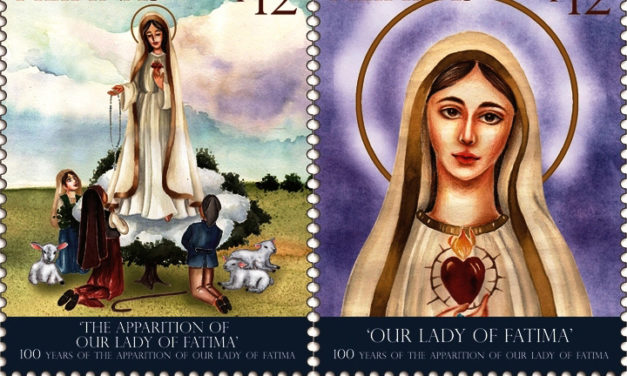 PHLPost issues stamps for Fatima centenary