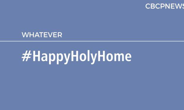 #HappyHolyHome
