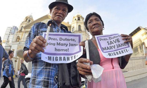 Duterte urged to intervene regarding OFW on death row