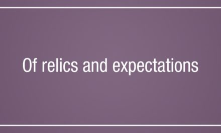 Of relics and expectations