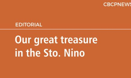 Our great treasure in the Sto. Nino