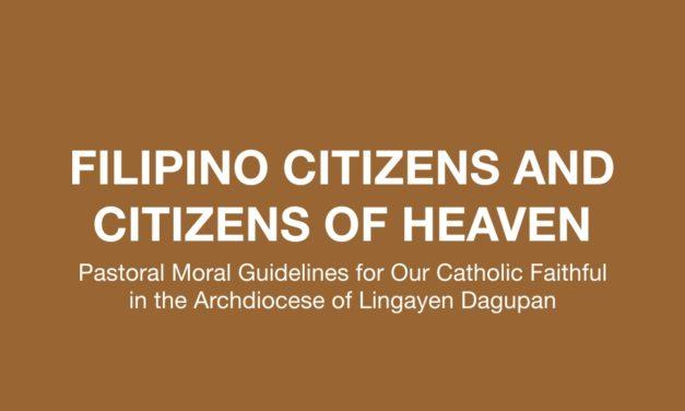 FILIPINO CITIZENS AND CITIZENS OF HEAVEN