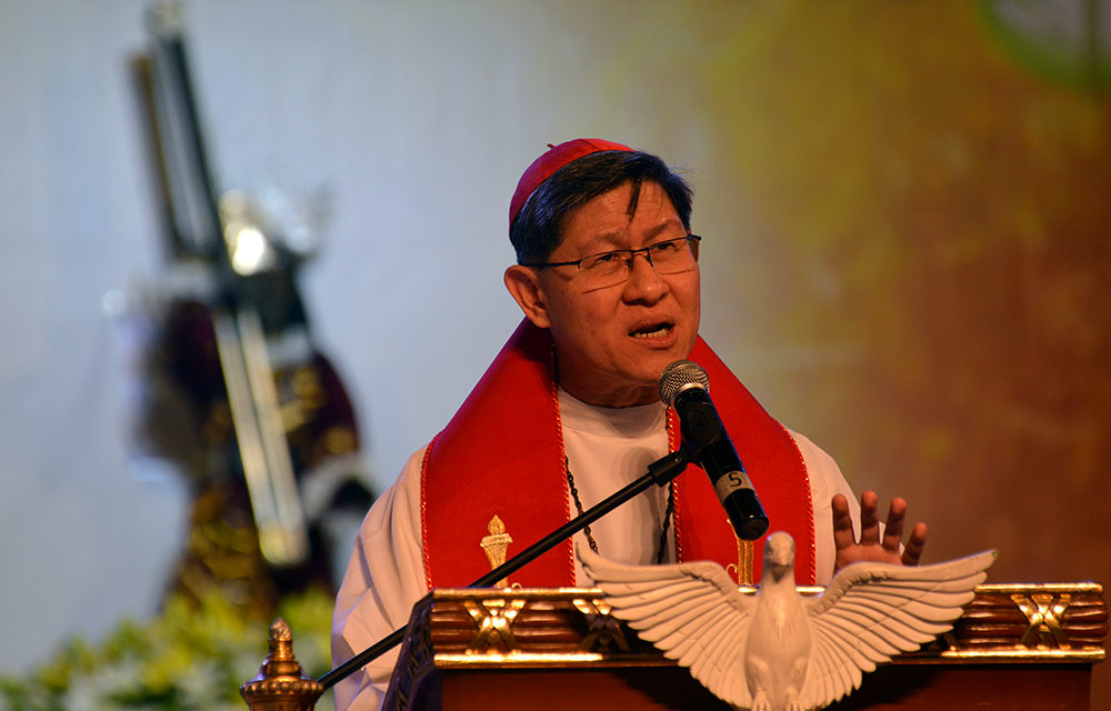 Cardinal Tagle hits greed, lust for power