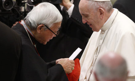 Vatican spokesman insists pope, aides are united on approach to China