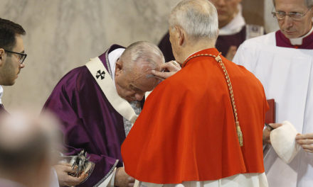 Lent is time to notice God's work, receive God's mercy, pope says