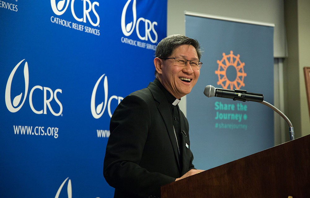 Cardinal Tagle says everyone has a little migrant in their soul