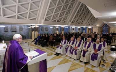 Fasting during Lent includes sharing, treating others kindly, pope says