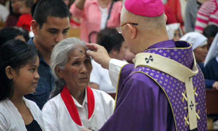 Catholics mark Ash Wednesday