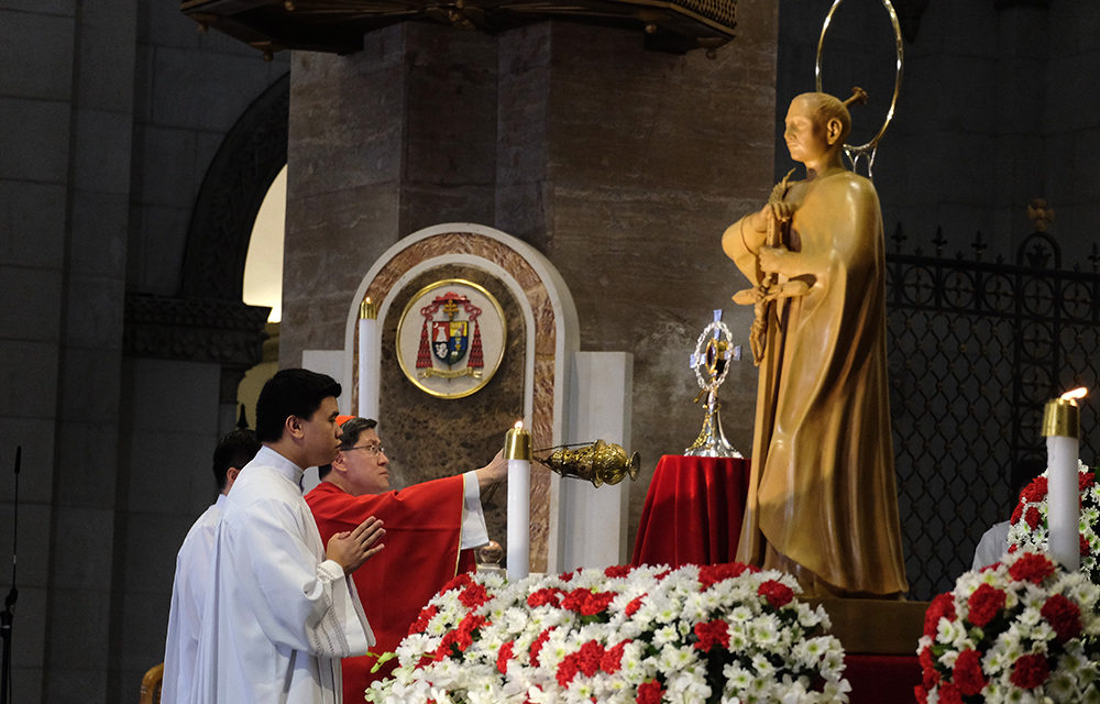Cardinal Tagle calls for 'everyday martyrs' of God's love