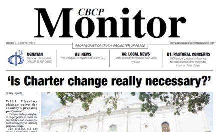 CBCP Monitor Vol 22 No 3