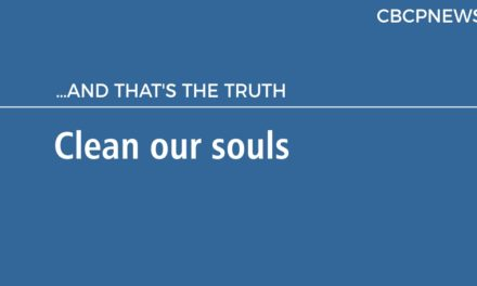 Clean our souls