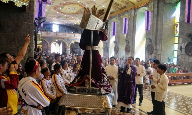 Black Nazarene of Quiapo visits Pililla parish for 11th time