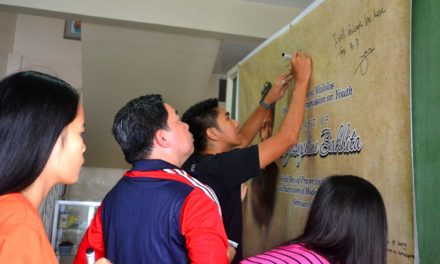 Youth leaders hit human trafficking, abuse