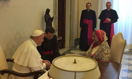 Pope, Bangladesh Prime Minister discuss Rohingya crisis at Vatican