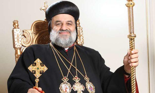 The return home: Syriac Christians celebrate Eucharistic liturgy in ravaged church