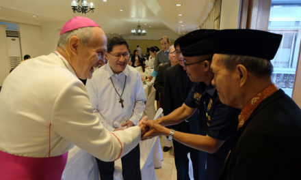 Pursue the common good, Cardinal tells diplomats, religious leaders