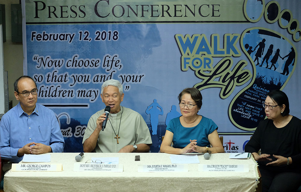 Cardinal Tagle to lead walk against killings