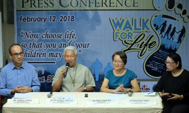 Cardinal Tagle to lead walk against killings