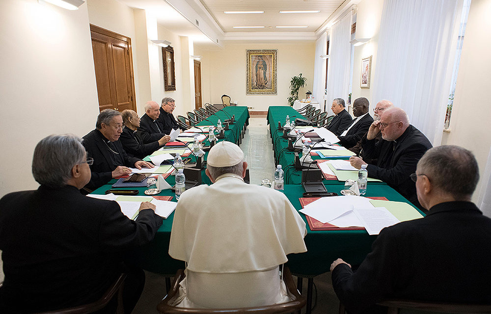 Pope, cardinal advisers studying regional tribunals for abuse cases