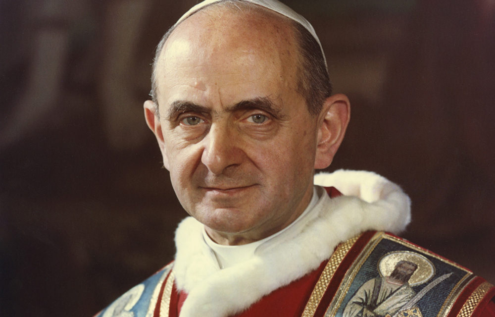 Blessed Paul VI to be canonized at close of synod, cardinal says