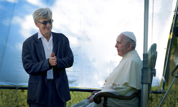 Famed German director makes film about Pope Francis