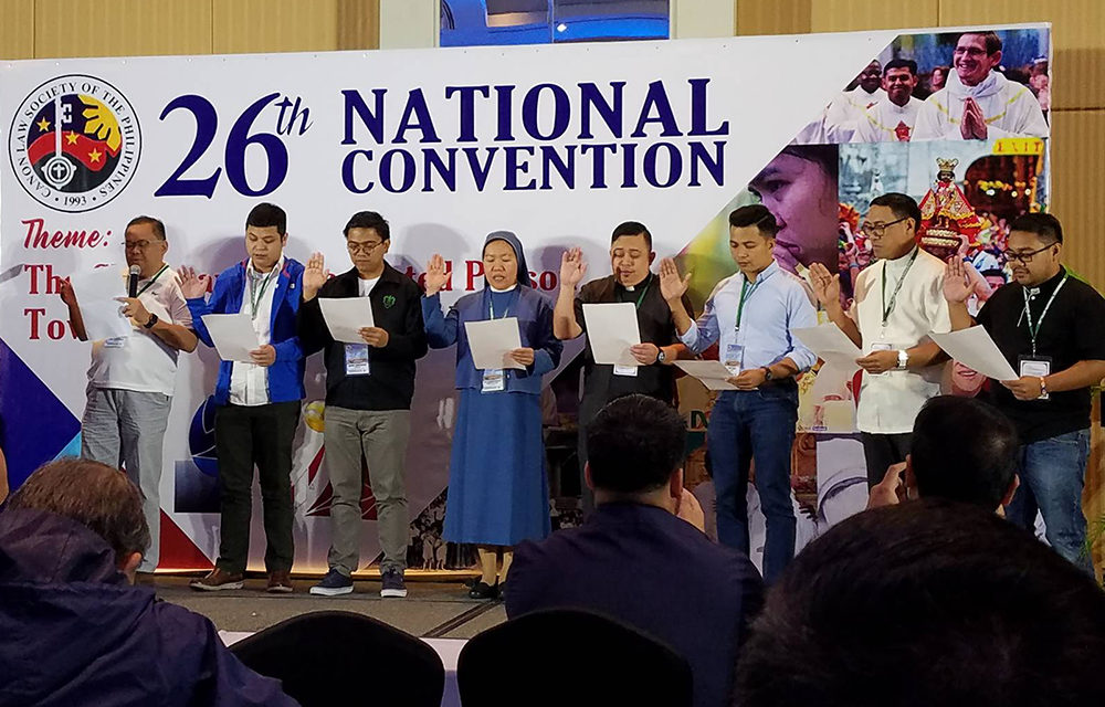 New members of the Canon Law Society of the Philippines