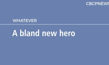 A bland new hero