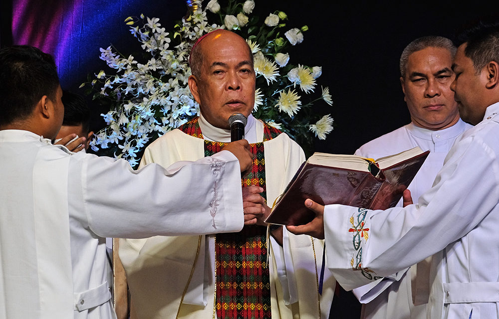 Archbishop Valles calls on Davao officials to be instruments of mercy