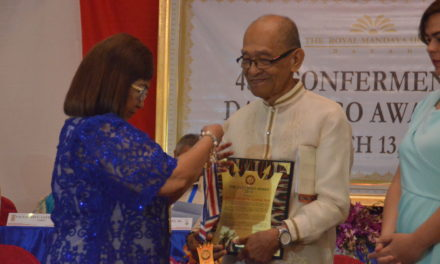 Redemptorist brother is Datu Bago awardee