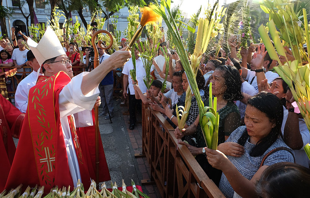 Palm Sunday: Cardinal Tagle hits 'kings' who spread violence