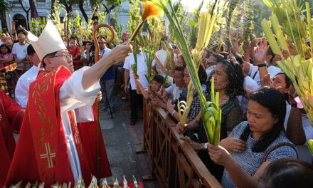 Palm Sunday: Cardinal Tagle hits 'kings' who spread violence