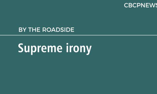 Supreme irony