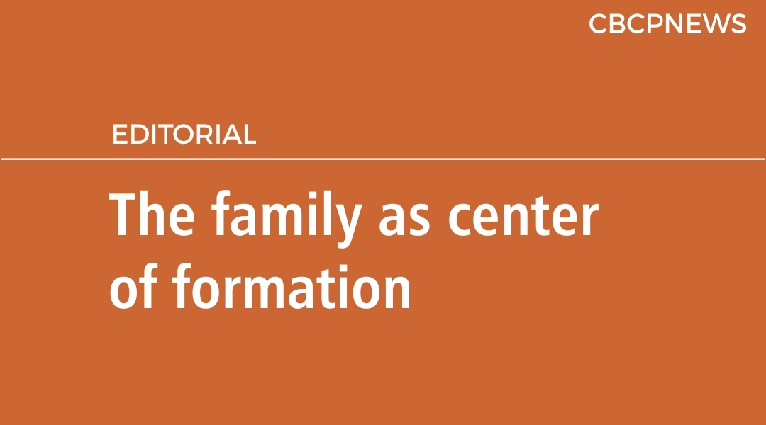 The family as center of formation