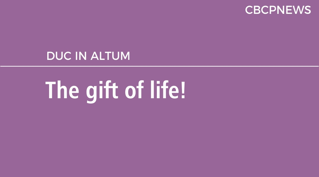 The gift of life!