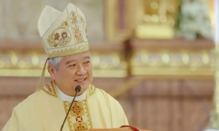 Mass of the Lord's Supper – Homily of Archbishop Socrates Villegas