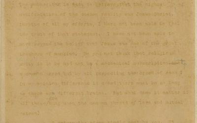 Gandhi's only letter on Jesus Christ is for sale