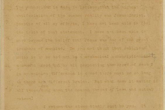 Gandhi's only letter on Jesus Christ is for sale