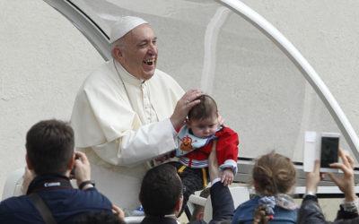 Name given at baptism gives sense of identity, belonging, pope says