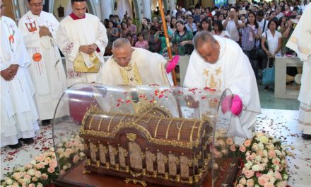 Relics of St. Therese arrive in Cebu